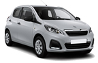 Peugeot 108, Oferta más barata Martinica