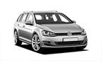 VW Golf STW, Hervorragendes Angebot Minivan