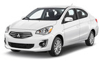 Mitsubishi Mirage Aut. 2dr A/C, Hervorragendes Angebot Rogue Valley International-Medford Airport